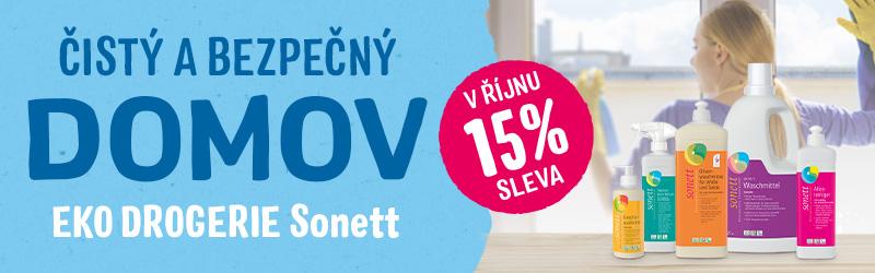 Čisté a bezpečně - Sonett - sleva 15%