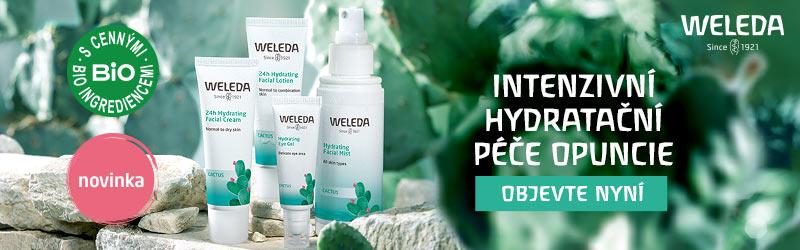 Novinka Weleda - hydratační péče Opuncie