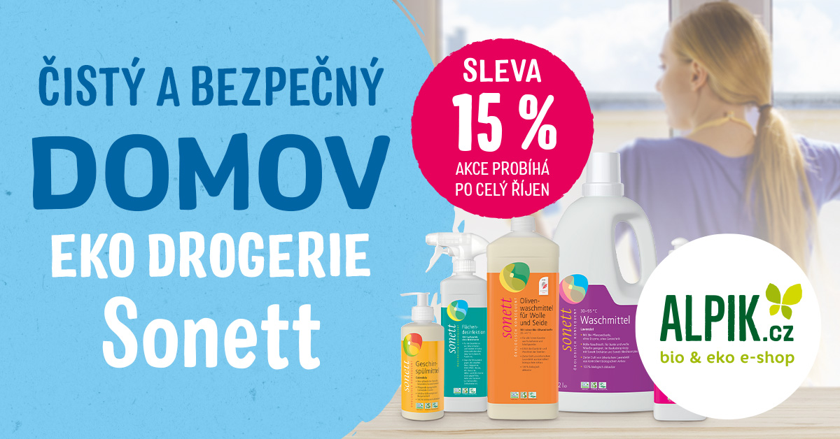 čisté a bezpečně - Sonett se slevou 15%