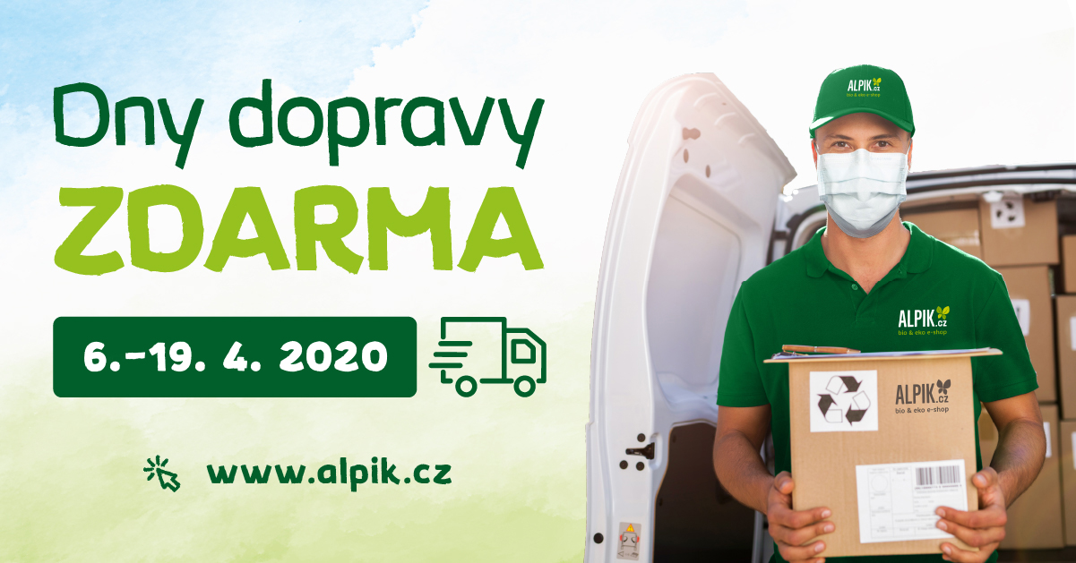 Dny dopravy zdarma 6.- 19.4. 2020