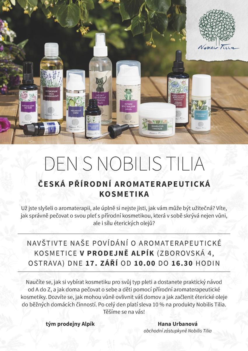 Pozvánka na den s Nobilis Tilia v Alpíku - 17.9.