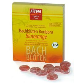 Fitne Bachovy Bonbony Červený pomeranč  50 g