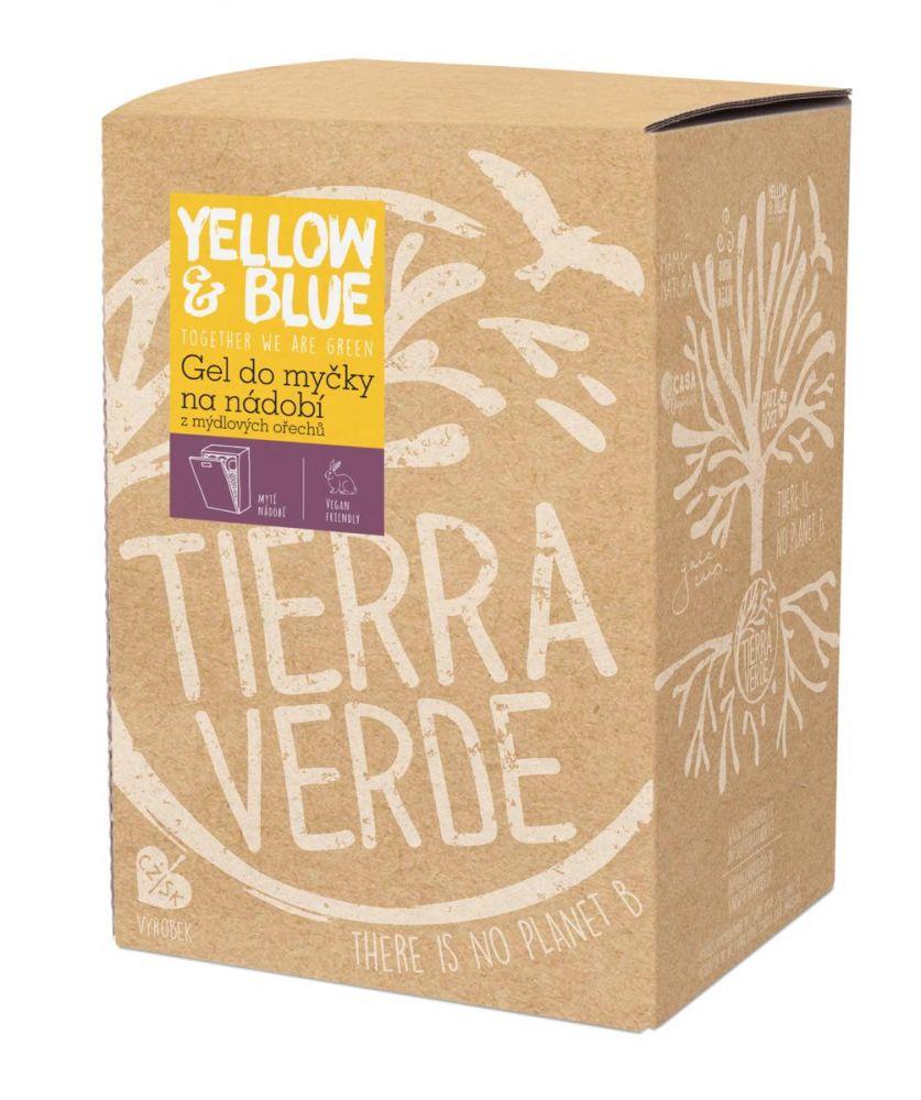 Tierra Verde Gel do myčky z mýdlových ořechů 5L