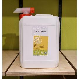Gel na nádobí s BIO citronovou sílící BEZOBAL Tierra Verde