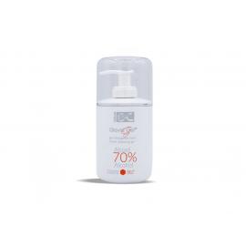 Glovid gel - Čistící gel na ruce s alkoholem 70%, esenciálními oleji a vitamínem E BeC Natura 300 ml s dávkovačem