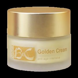 Golden cream - Intenzivní anti-age krém proti vráskám BeC Natura 50 ml
