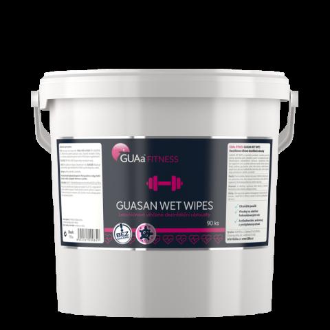 Guasan fitness wet wipes GUAa 90 ks