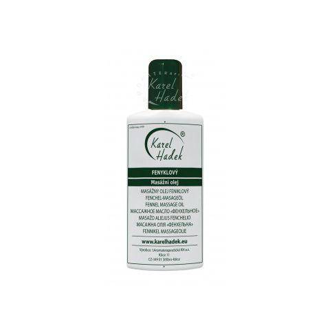Fenyklový masážní olej Hadek 200ml