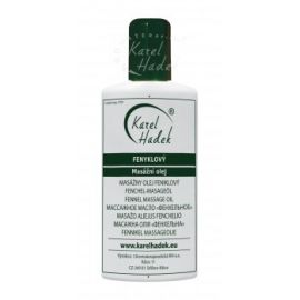 Fenyklový masážní olej Hadek  20ml
