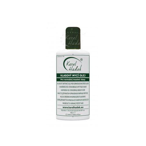 Vlasový mycí olej pro mastné vlasy Hadek 200ml