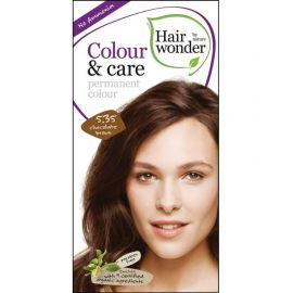 Barva ČOKOLÁDOVĚ HNĚDÁ 5.35 přírodní dlouhotrvající BIO Hairwonder
