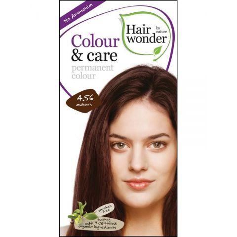 Barva KAŠTANOVÁ  4.56 přírodní dlouhotrvající BIO Hairwonder