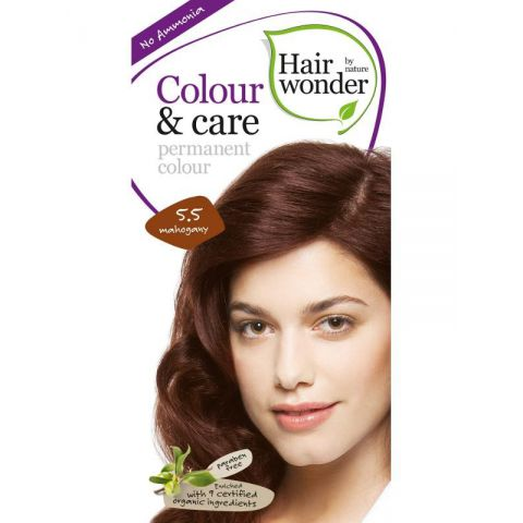 Barva MAHAGON 5.5 přírodní dlouhotrvající BIO Hairwonder