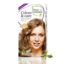 Barva STŘEDNĚ BLOND 7 přírodní dlouhotrvající BIO Hairwonder