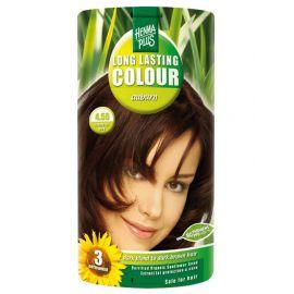 Dlouhotrvající barva Kaštanová 4.56  HennaPlus 100 ml