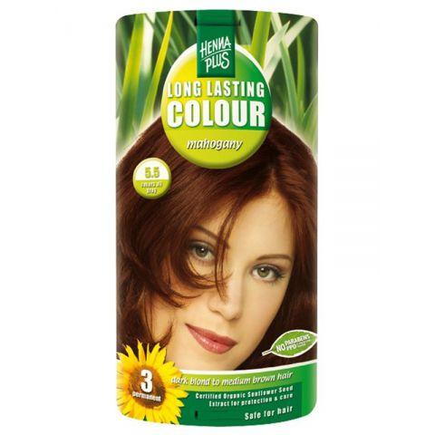 Dlouhotrvající barva Mahagon 5.5 HennaPlus 100 ml