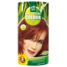 Dlouhotrvající barva Měděně červená 7.46 HennaPlus 100 ml