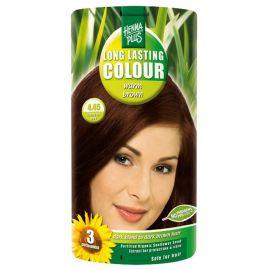 Dlouhotrvající barva Teplá hnědá 4.45 HennaPlus 100 ml
