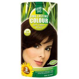 Dlouhotrvající barva Tmavě měděná hnědá 3.44 HennaPlus 100 ml