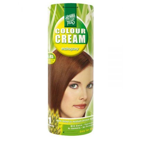 Krémová barva Mahagon 6.45 HennaPlus 60 ml