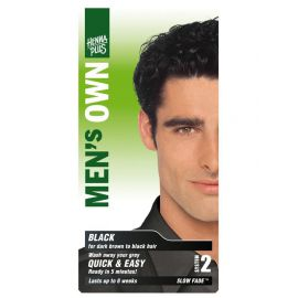 Barva pro muže Černá HennaPlus 80 ml