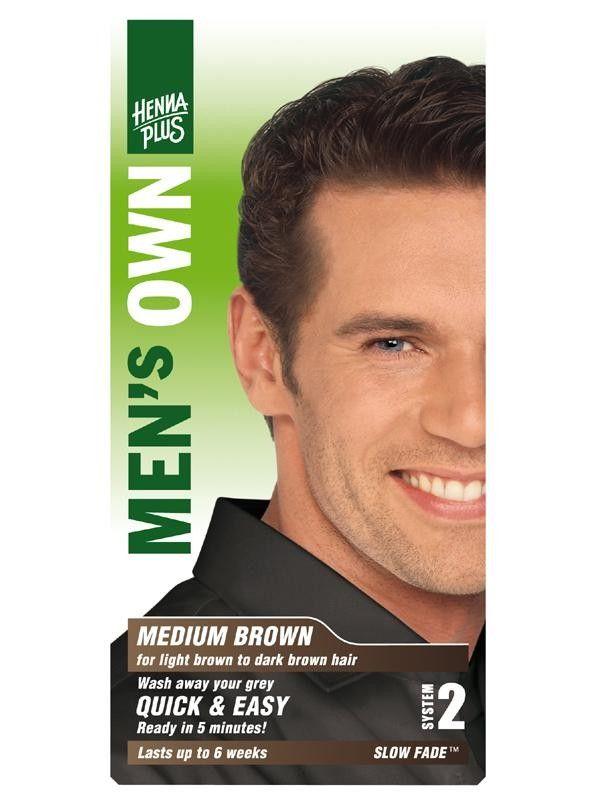 HennaPlus Barva pro muže Hnědá 80 ml