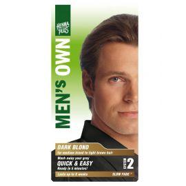 Barva pro muže Tmavá blond HennaPlus 80 ml