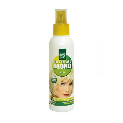 Zesvětlující sprej na vlasy s Heřmánkem HennaPlus  150 ml