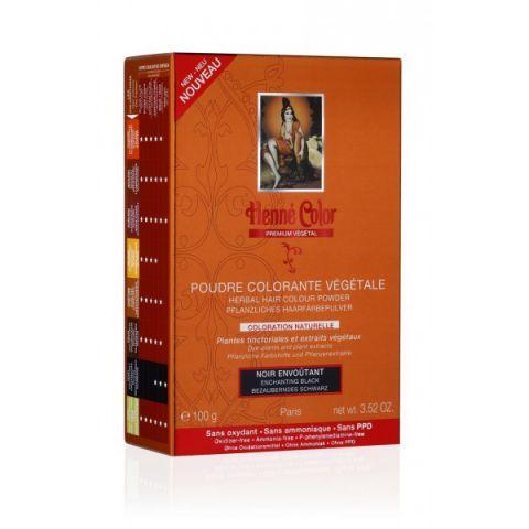 Barva Černá Premium Végétal Henné Color 100 g