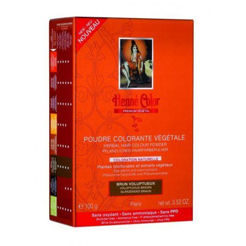 Barva Hnědá Premium Végétal Henné Color 100 g