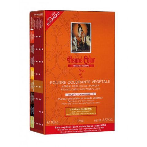 Barva Kaštan Premium Végétal Henné Color 100 g