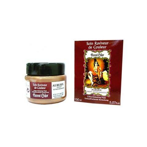 Tónovací výživná vlasová maska Bordó Henné Color 150 ml