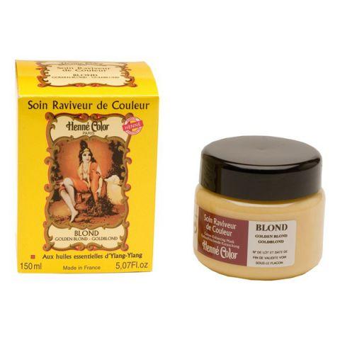 Maska Zlatá blond vlasová Tónovací výživná  Henné Color 150 ml