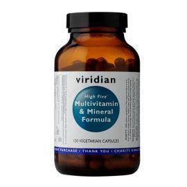 High Five Multivitamin & Mineral Formula (Natural multivitamín pro každý den) 120 kapslí Viridian