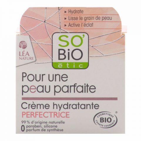 Hydratační krém pro dokonalou pleť  SO´BIO étic 50ml