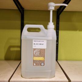 Hygienický gel na ruce s antimikrobiální přísadou citron Tierra Verde 100ml BEZOBAL