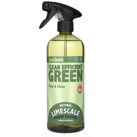 Intenzivní čisticí prostředek a odstraňovač vodního kámene  Bez vůně Eco Clean 750 ml