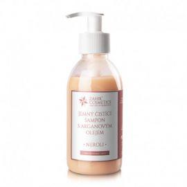 Jemný čistící šampon s arganovým olejem neroli Zahir  200 ml
