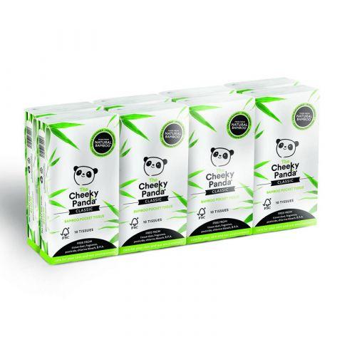 Kapesní ubrousky 3-vrstvé Cheeky Panda 8 balení