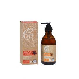 Kaštanový šampon pro posílení vlasů s vůní pomeranče Tierra Verde 230 ml
