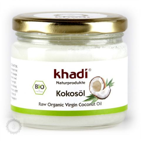 Panenský kokosový olej BIO Khadi  250ml