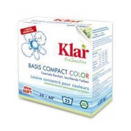 Prací prášek COLOR na barevné a jemné prádlo KLAR  1,375 kg