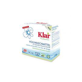 Prací prášek s extraktem z mýdlových ořechů KLAR  1,1kg
