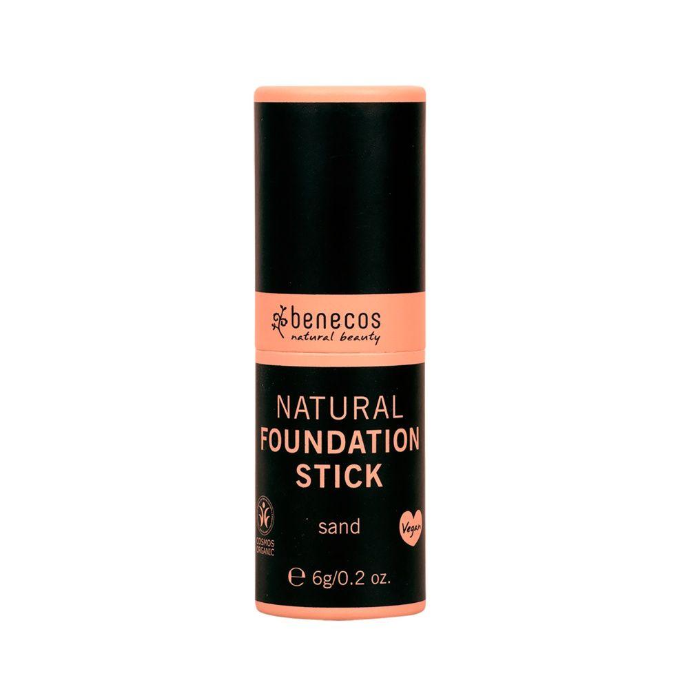Benecos Kompaktní makeup - sand BIO, VEG