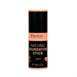 Kompaktní makeup - sand Benecos BIO, VEG