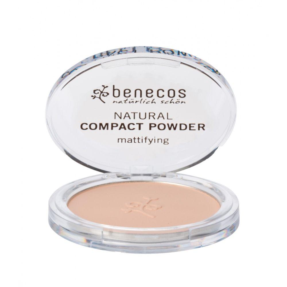 Benecos kompaktní pudr Bio Veg sand 9 g