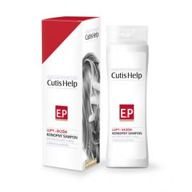 Konopný šampon lupy-ekzém CutisHelp 200ml
