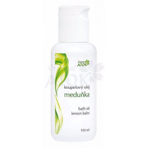 Koupelový olej Meduňka Atok 100 ml