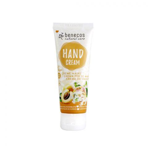 Krém na ruce Meruňka a bezinkový květ BIO, VEG Benecos 75 ml