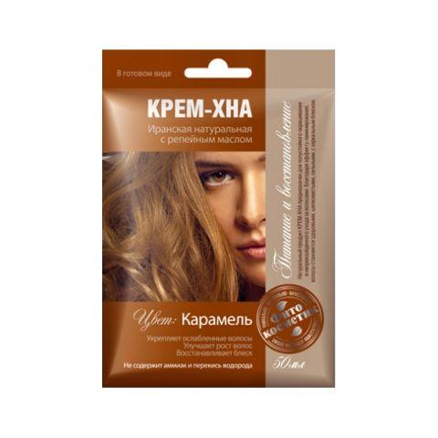 Krémová Henna Karamelová Fitokosmetik 50ml
